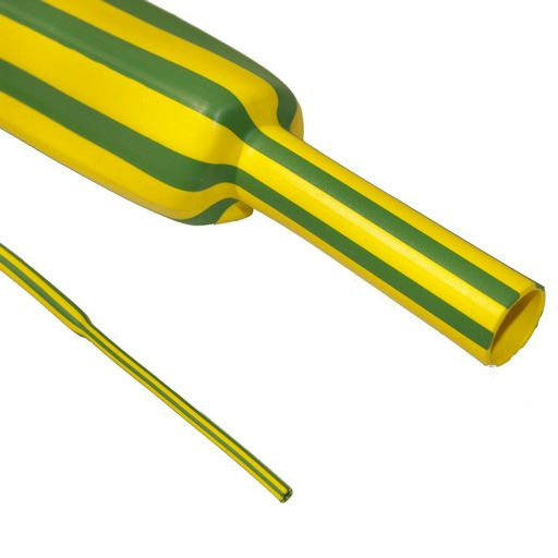 HEAT SHRINK GREEN & YELLOW