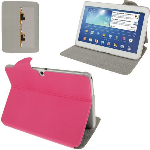 LEATHER SMART COVER WITH HOLDER