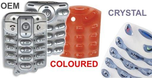 KEYPADS COLOURED