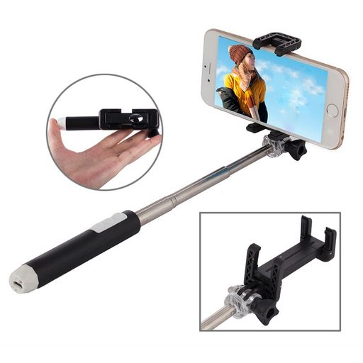 .SELFIE STICK WITH BLUETOOTH CONTROLLED SHUTTER