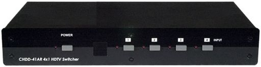 4 WAY COMPONENT VIDEO SWITCH WITH RS232