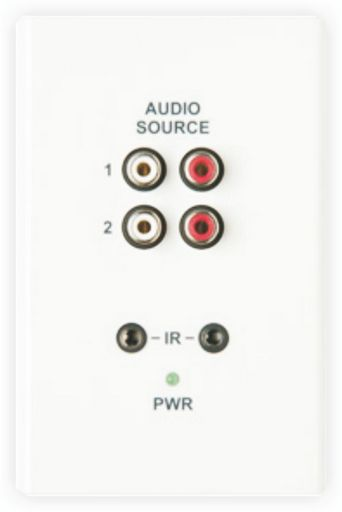WALL PLATE AUDIO IN EXPANSION