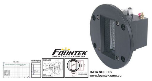 FOUNTEK JP3.0 RIBBON TWEETERS - SOLD IN MATCHED PAIRS