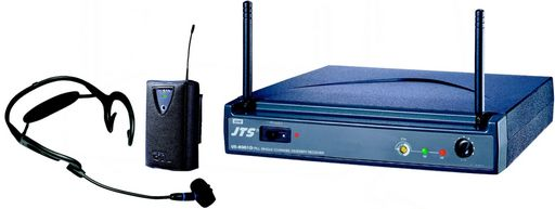 SINGLE UHF WIRELESS SYSTEM - RECEIVER & HEADSET MIC.