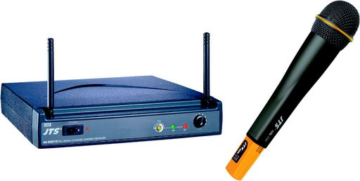 SINGLE UHF WIRELESS SYSTEM - RECEIVER & HAND HELD MIC.