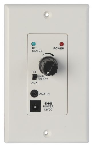 ZONE AMPLIFIER WALL PLATE WITH BLUETOOTH - PRO2