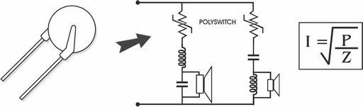 POLYSWITCH - AS SPEAKER PROTECTORS