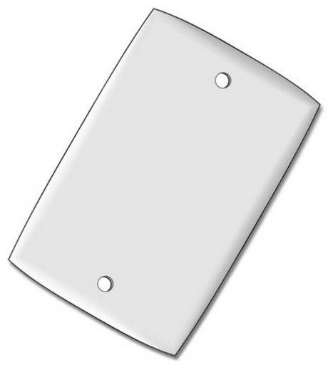 WALL PLATE BLANK