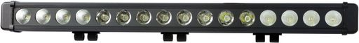SINGLE ROW LED LIGHT BARS - LARGE REFLECTOR
