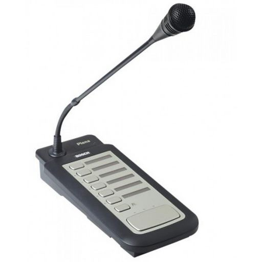 PLENA ALL-IN-ONE CALL STATION DESK MICROPHONE