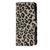 LEOPARD TEXTURE HORIZONTAL FLIP LEATHER CASE WITH CARD HOLDER.