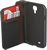 DUAL COLOUR WALLET CASE WITH CARD HOLDER